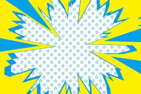 Illustration pour Background material, intensive line, cartoon, animation, expression, speech bubbles, lines, spirals, spin, spiral, spiral - image libre de droit