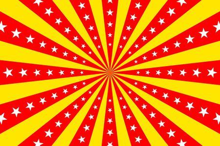 Illustration pour circus retro background - image libre de droit