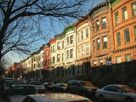 Harlem typical house - New York.