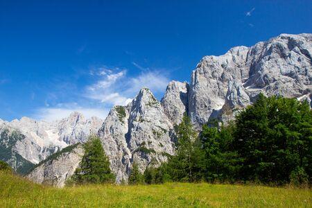 Photo pour Summer in the Triglav National Park, Julian Alps, Slovenia - image libre de droit