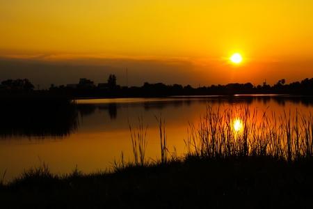 Photo pour sunrise in the River - image libre de droit