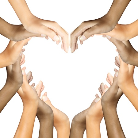 Photo for hands making a heart - Royalty Free Image