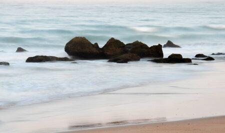 The beauty of Roche's beaches, in Conil de la Frontera, C?diz. Silky effect