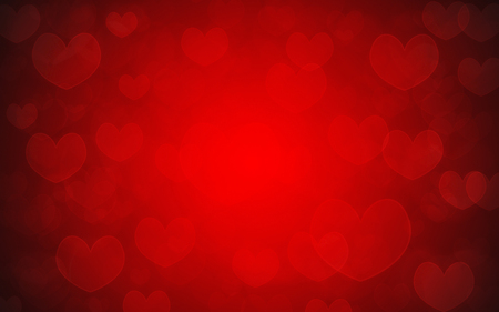 Photo for red hearts as background - Royalty Free Image