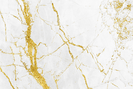 Foto de White gold marble texture pattern background with high resolution design for cover book or brochure, poster, wallpaper background or realistic business - Imagen libre de derechos