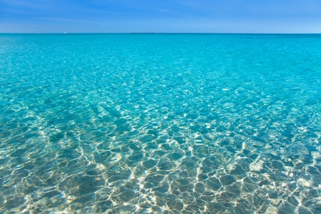 Turquoise Water Ripples