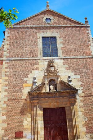 Leon Santa Maria la real church at Castilla of Spain