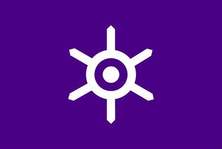 2D illustration of the flag of Tokyo