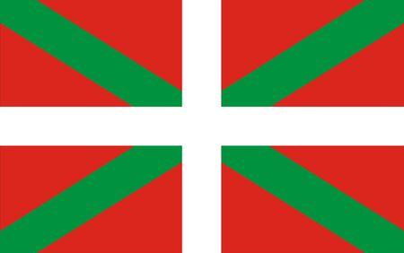 very big size basque spain region flag