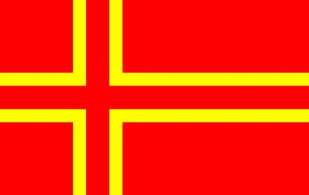 The Mouvement Normand adopted this flag in the 1970s, and it is used unofficially by some associations and individuals, especially those with an interest in the Viking origins of the Normans.