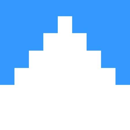 very big size norway region akershus flag