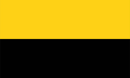 computer generated Saxony Anhalt germany country region flag