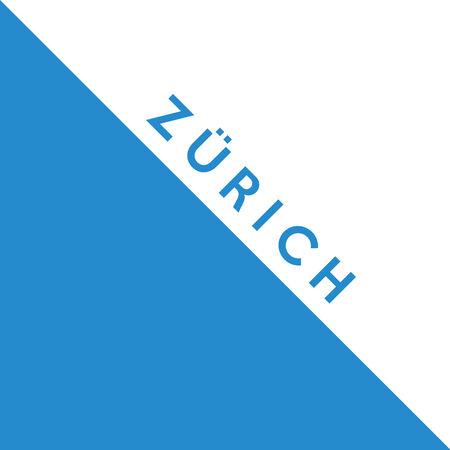 Flag of Canton of Zurich Switzerland country region