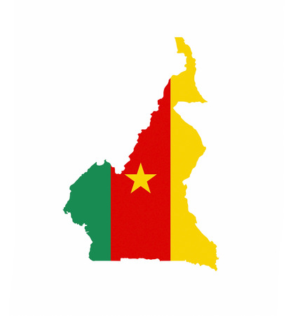 cameroon country flag map shape national symbol