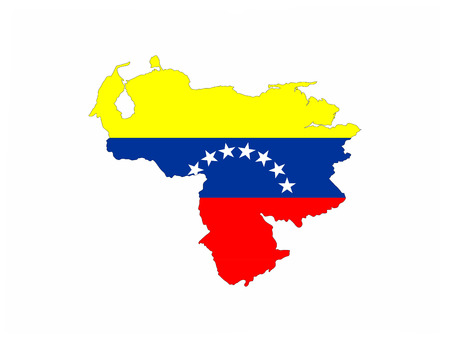 venezuela country flag map shape national symbol
