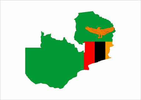 zambia country flag map shape national symbol