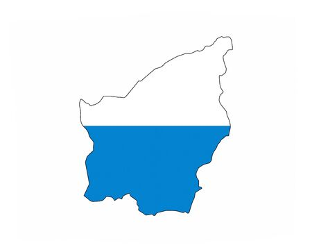 san marino country flag map shape national symbol
