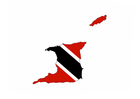 trinidad tobago country flag map shape national symbol