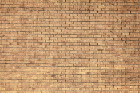 Foto de Modern large yellow brick wall background - Imagen libre de derechos