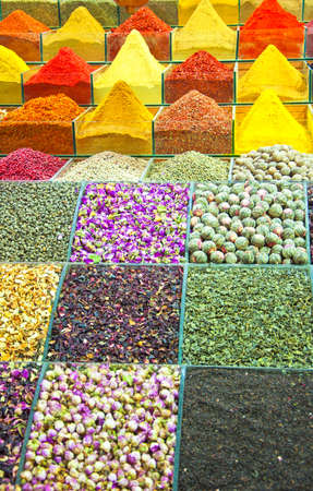 The colourful and aromatic egyptian spice market that is situated in the turkish city of istanbul.