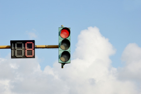 eight seconds before it green light on traffic lights