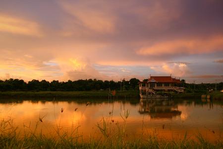 Photo pour Village panorama on South Sulawesi - image libre de droit
