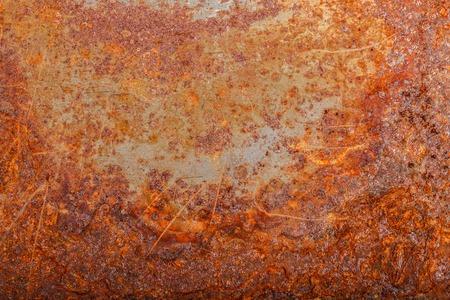 Photo pour sheet of rusty metal. oxidized background - image libre de droit