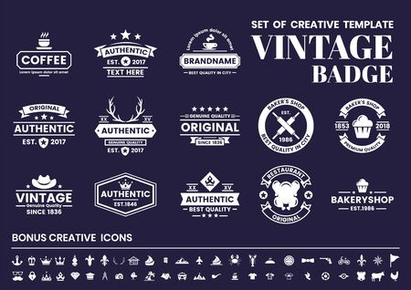 Foto per Vintage Retro Vector for banner, poster, flyer - Immagine Royalty Free