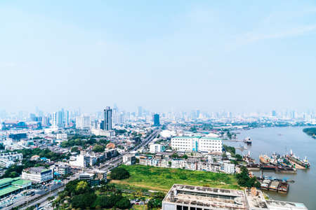Photo for Bangkok City skyline in Thailand - Royalty Free Image