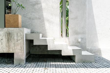 Photo pour abstract concrete stair step for decoration - image libre de droit