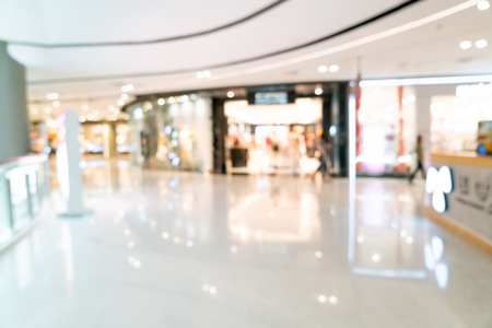 Foto für Abstract blur and defocused shopping mall or department store interior - Lizenzfreies Bild