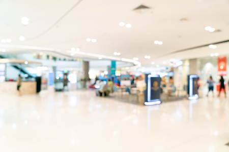 Foto für Abstract blur and defocused shopping mall or department store interior for background - Lizenzfreies Bild