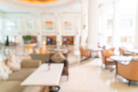 Photo pour Abstract blur luxury hotel lobby - image libre de droit