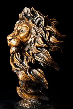 Head of Lion statue