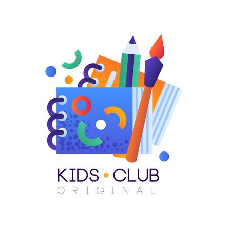 Kids Club Original Creative Label Template Science Education