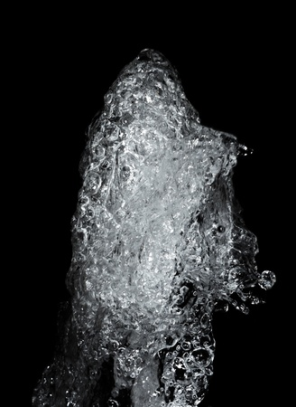 image of the water at stop motion