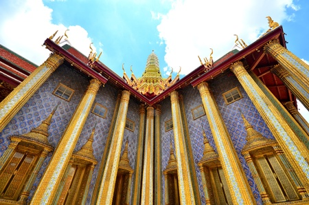 Chapel in the Emerald Buddha Temple
