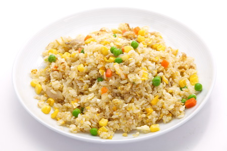 Shrimp fried rice の写真素材