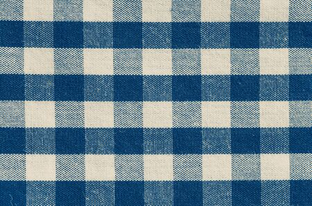 Close - up check shirt fabric pattern