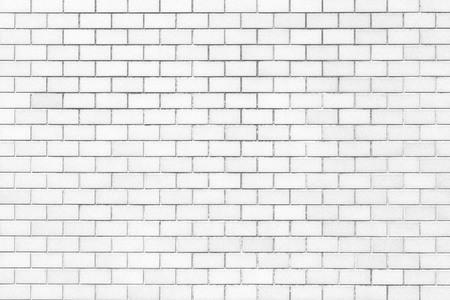 Photo pour White brick wall texture and background - image libre de droit