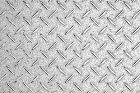 Photo pour Silver diamond plate texture and background - image libre de droit