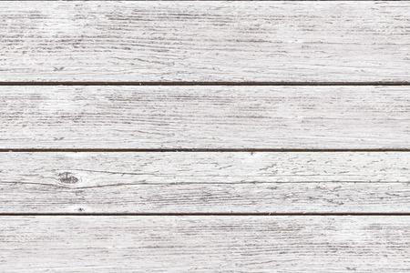 Photo pour white wood plank texture and seamless background - image libre de droit