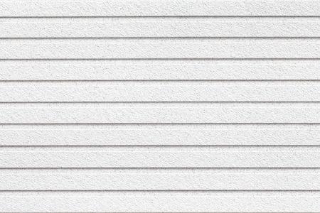Photo pour White painted wooden walls texture and seamless background - image libre de droit