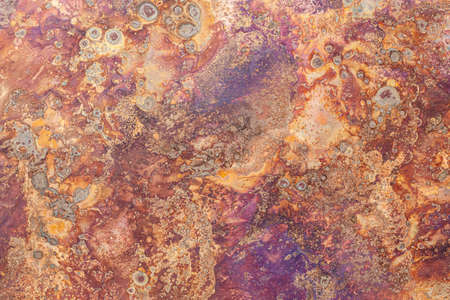 Photo pour The pattern on the rusty iron plate texture and background seamless - image libre de droit