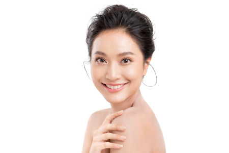Foto per Portrait of beautiful asian young woman - Immagine Royalty Free