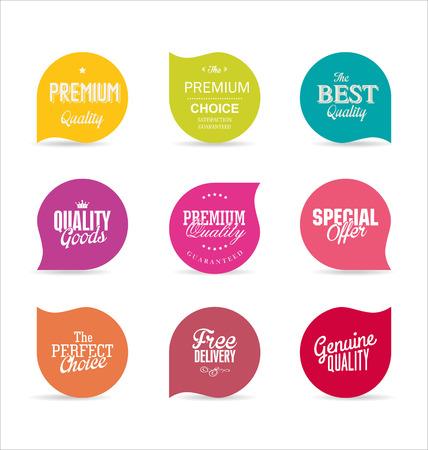 Illustration for Modern design labels - Royalty Free Image