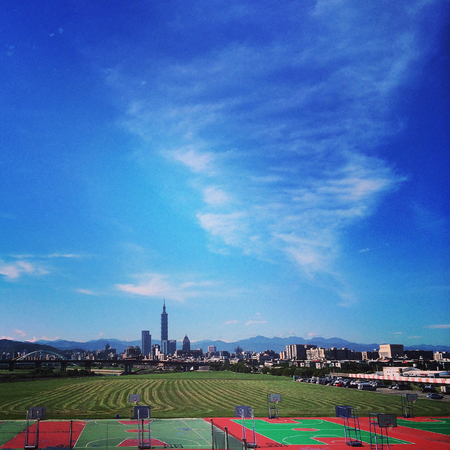 Taipei city scape