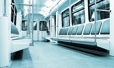 modern train interior