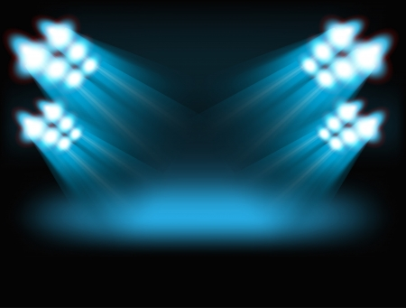 Bright spot lights  Template for a content
