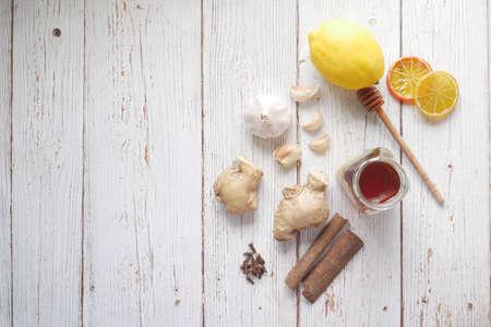 Foto für immunity stimulation foods and and viruses protection - Lizenzfreies Bild